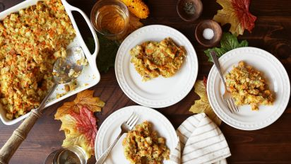 Grandmas Thanksgiving Stuffing Recipe Genius Kitchen