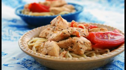 Chicken Scampi Recipe Genius Kitchen