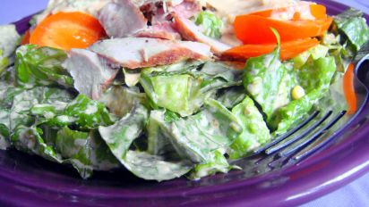 Chopped Romaine Salad With Thousand Island Dressing Recipe Healthy