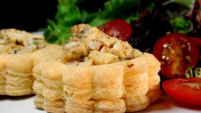 Chicken Vol Au Vents Recipe Genius Kitchen