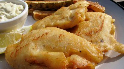 Paula Deen Beer Battered Fish And Chips Recipe Genius Kitchen