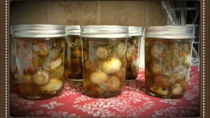 laurels marinated mushrooms easy canning recipe genius kitchen