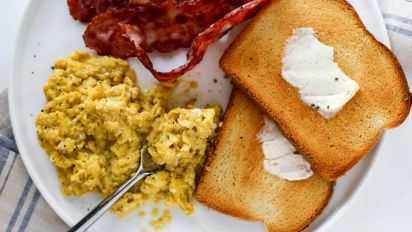 Kittencals Fluffiest Scrambled Eggs Recipe Genius Kitchen