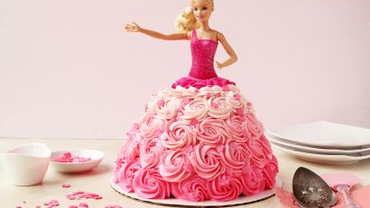 Barbie Birthday Cake Recipe Genius Kitchen