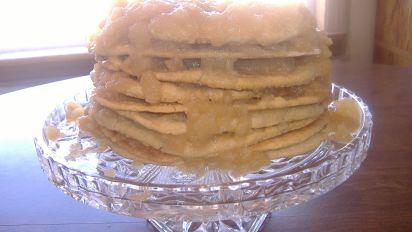 Great Grandma Effies Old Fashioned Stack Cake Recipe Genius Kitchen
