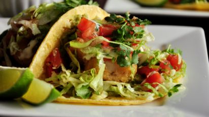 Shrimp Tacos Recipe Genius Kitchen
