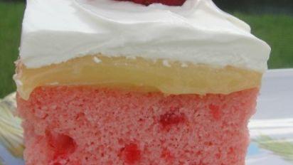 Birds Strawberry Cake With Lemon Filling Recipe Genius Kitchen