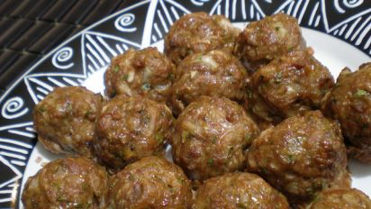 Twisted Beef Koftas Middle Eastern Meatballs Recipe Indian Genius