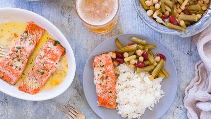 Microwave Salmon Fillets Recipe Genius Kitchen