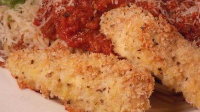 Baked Panko Chicken Parmesan Recipe Genius Kitchen