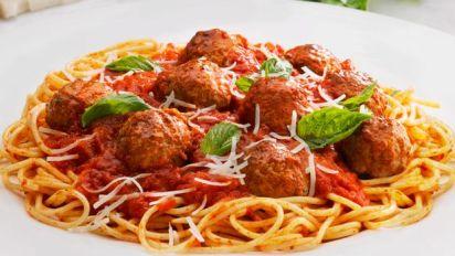 Johnsonville Classic Meatballs Spaghetti