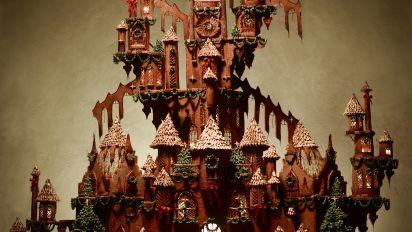 Gingerbread Castle Recipe Genius Kitchen