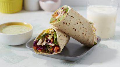 Copycat Chick Fil A Grilled Chicken Cool Wrap Recipe Genius Kitchen