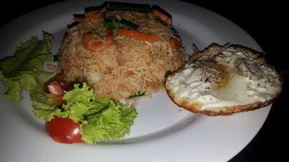 Indonesian Fried Rice Nasi Goreng Recipe Genius Kitchen