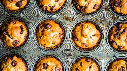 Chocolate chip muffins recipe food network