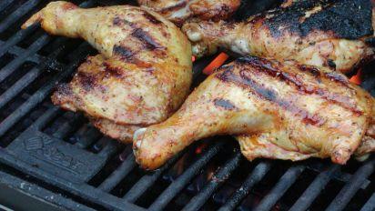 Chicken Legs Grilled Recipe Genius Kitchen