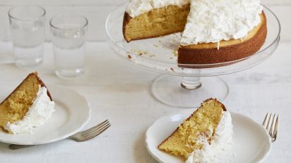 Sour Cream Yellow Cake Recipe Genius Kitchen