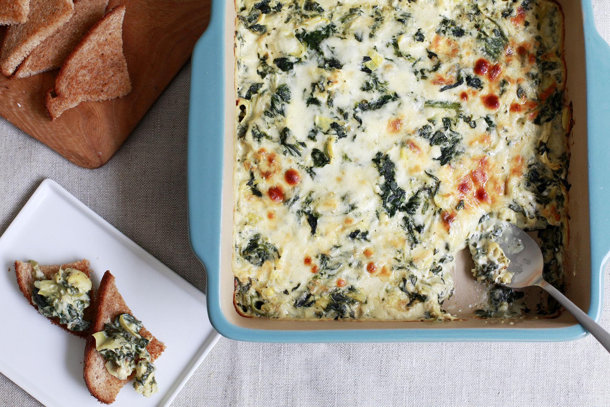 Copeland Spinach Artichoke Dip Recipe