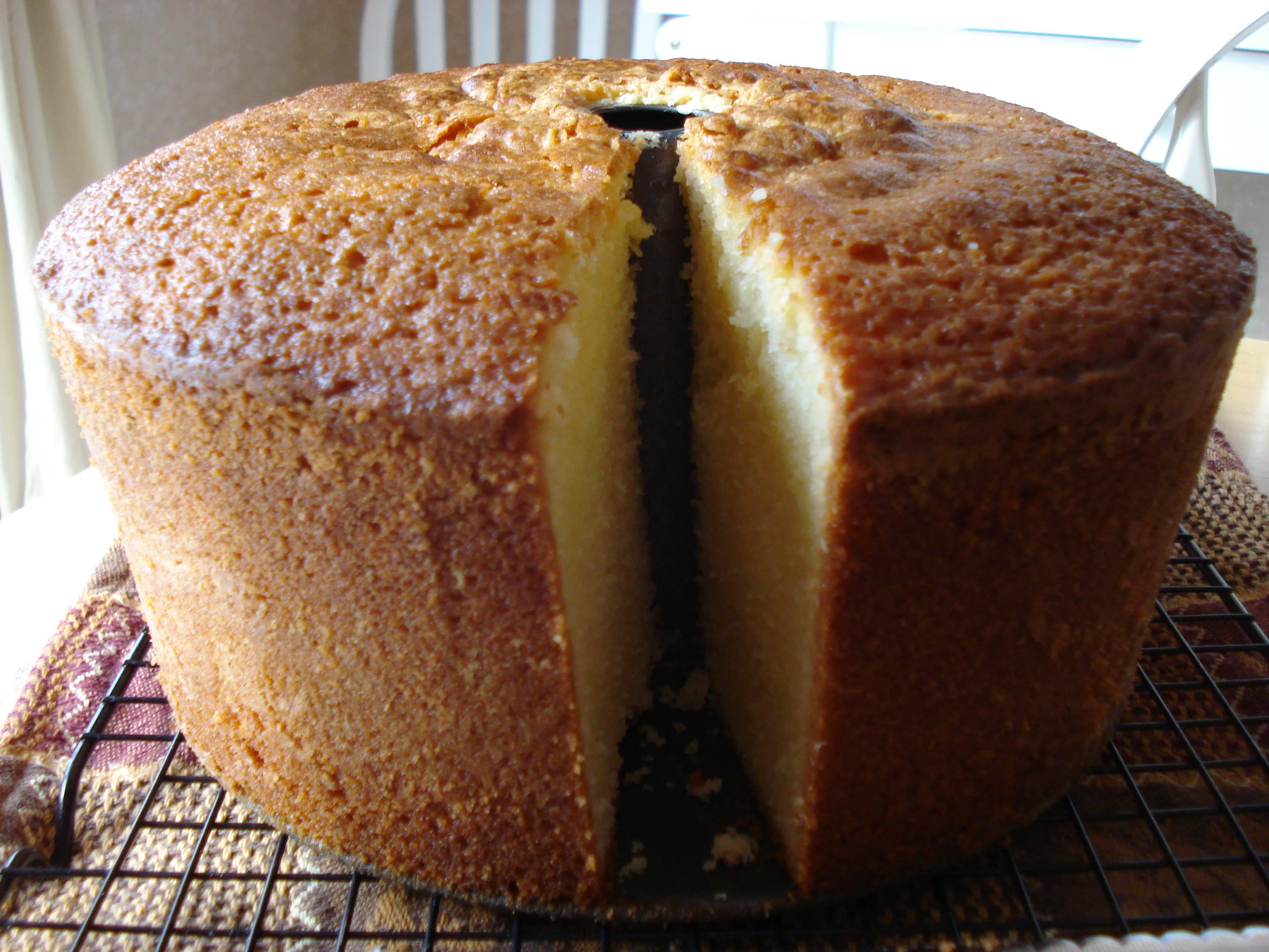 Mile High All Butter Pound Cake Recipe Genius Kitchen