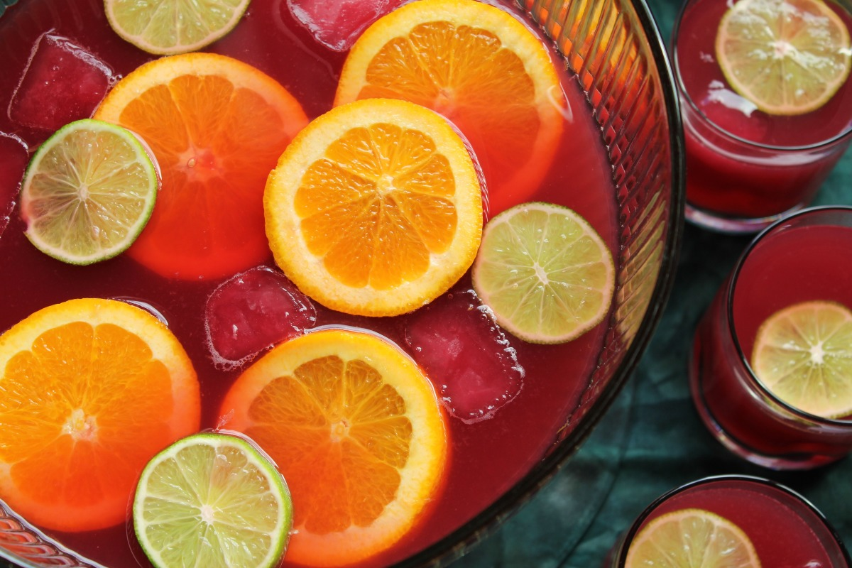 Holiday Cranberry Punch image