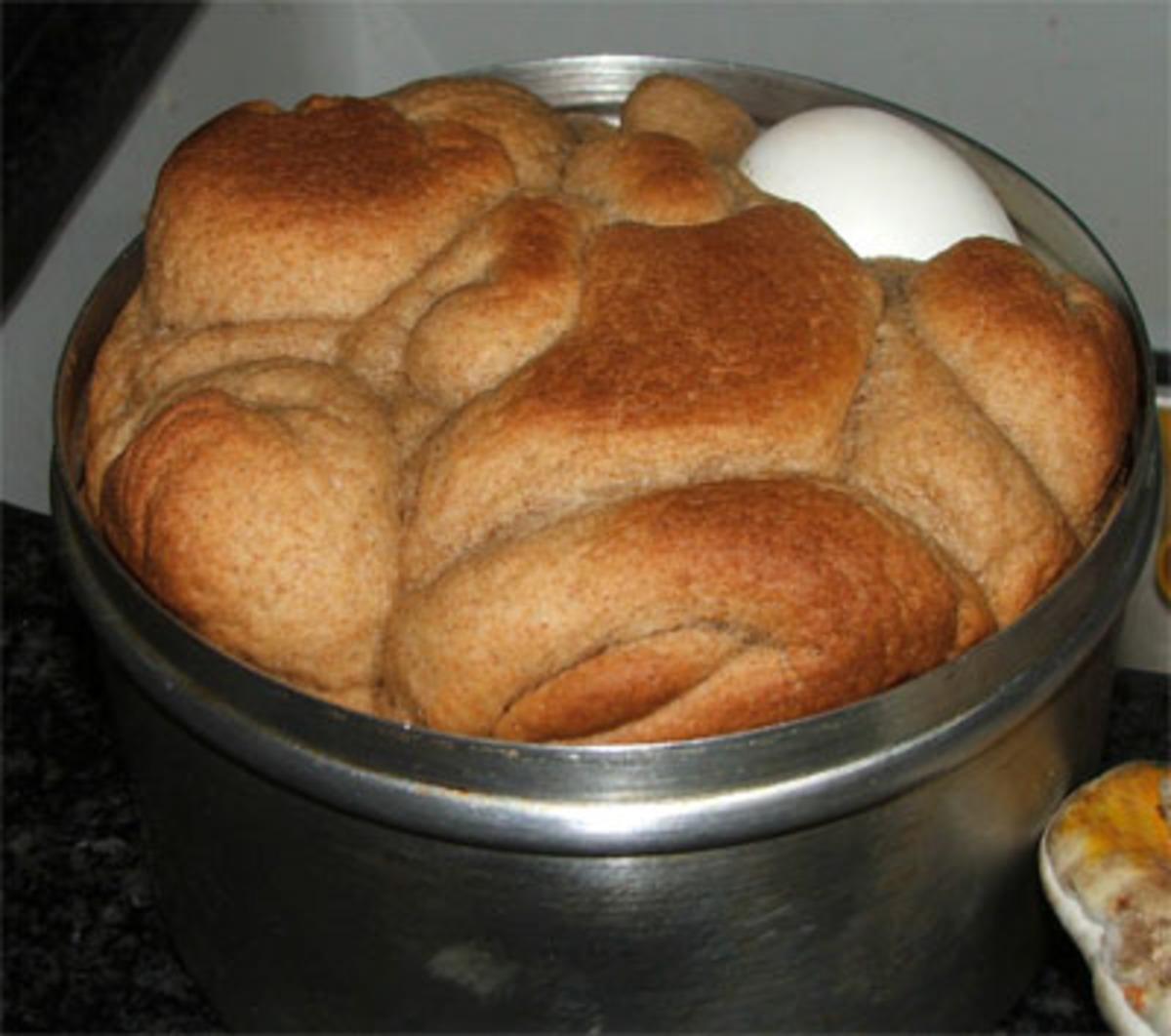 Shabbat Breakfast Bread (Kubaneh) image