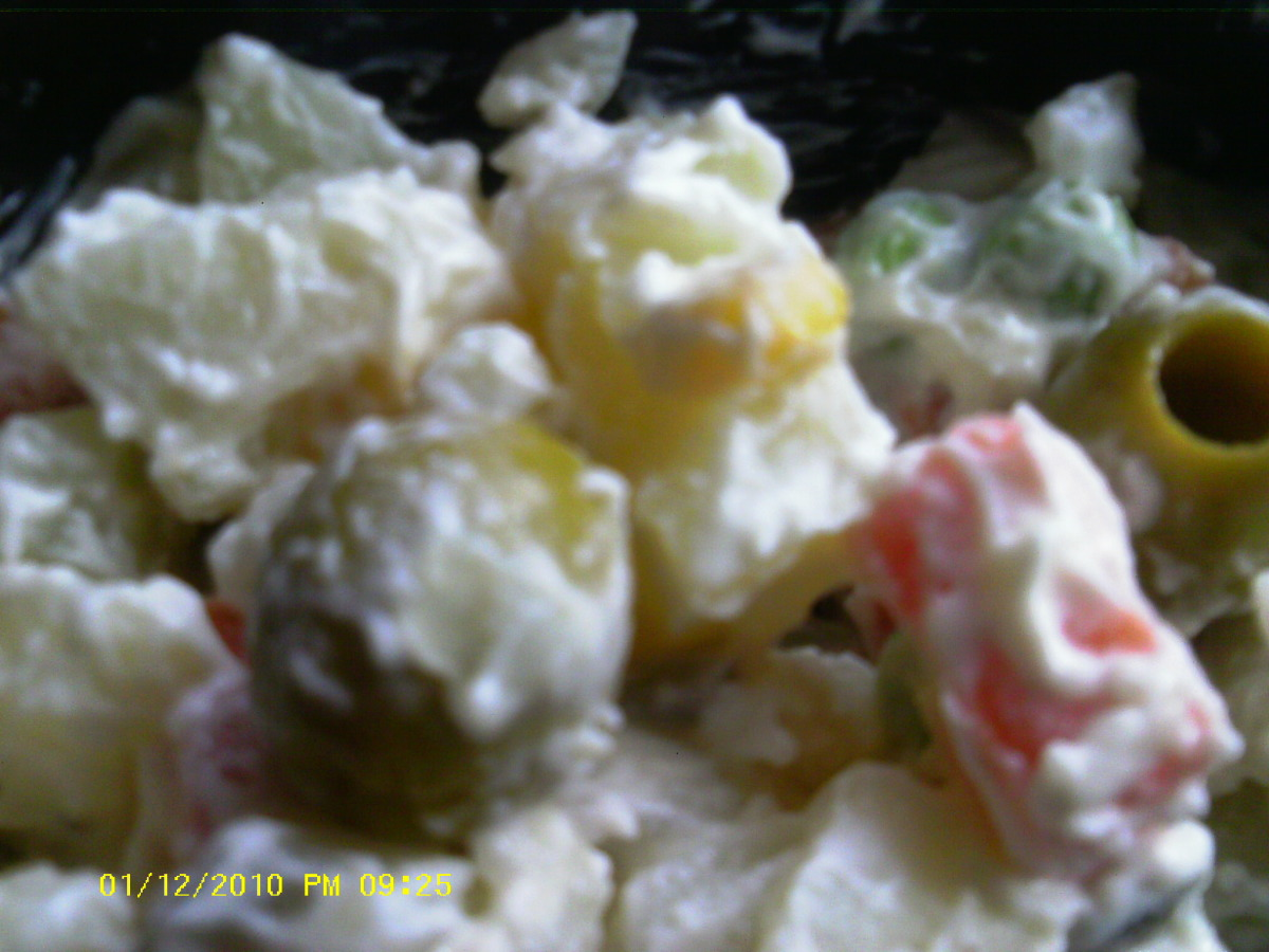 Recipe For Brazilian Potato Salad
