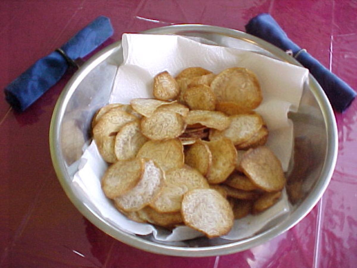 Taro Chips (like Potato Chips) image