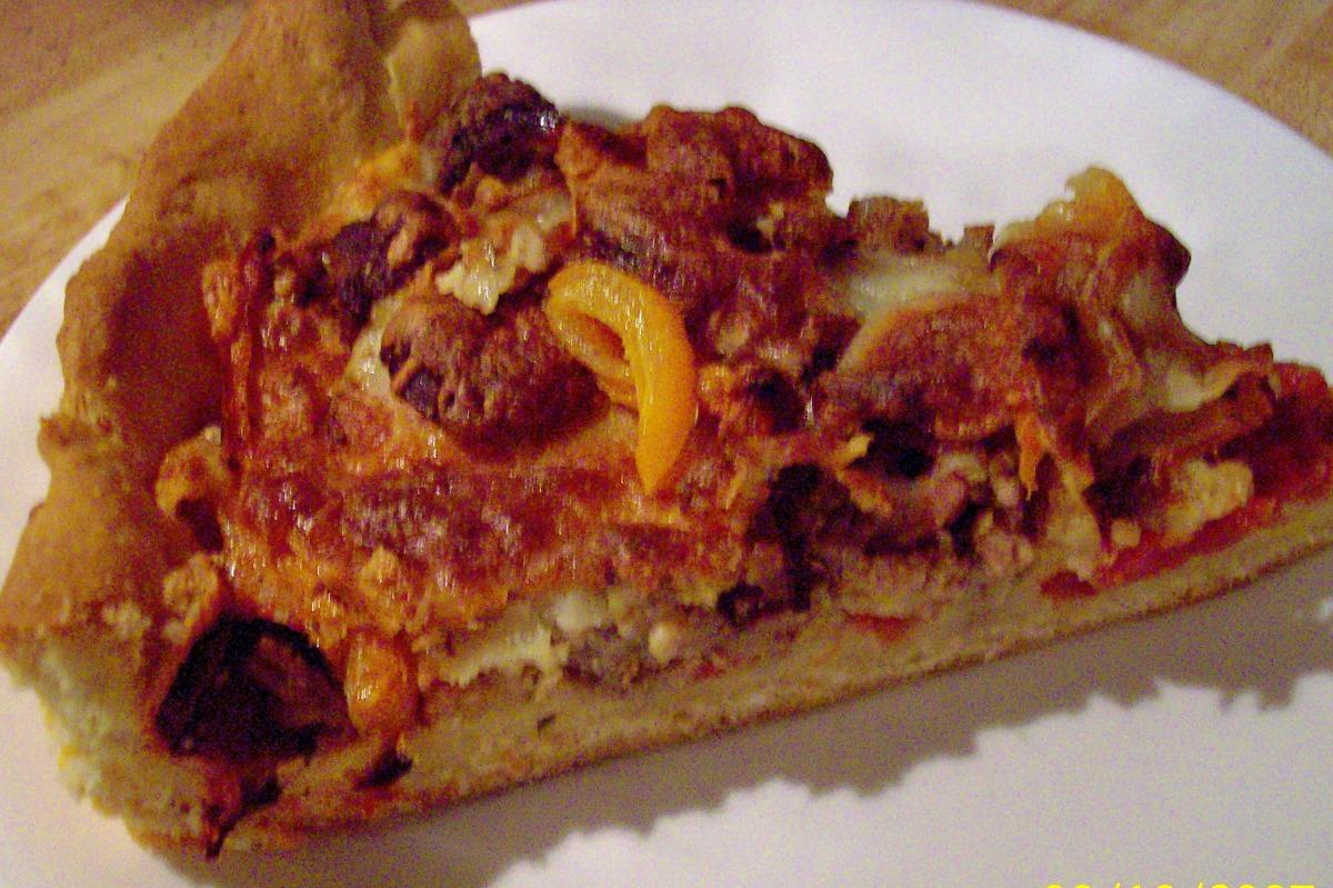 Deep Dish Pizza image