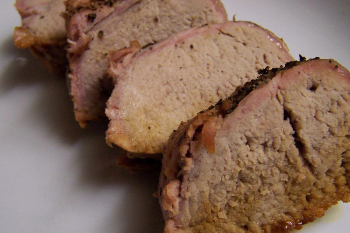 Cider-Roasted Pork Loin image