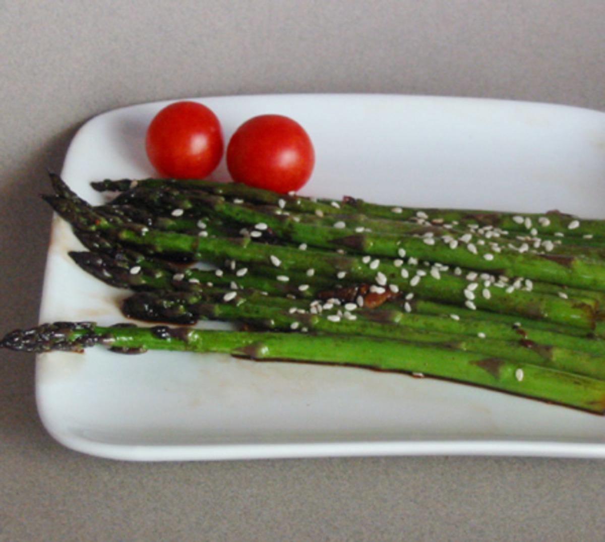 Stir- Fried Sesame Asparagus image