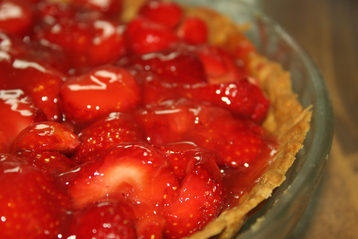 Fresh Strawberry Pie Recipe Food Com
