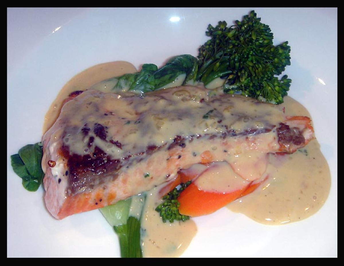 Thai Red Curry / Coconut Sauce (For Salmon) image