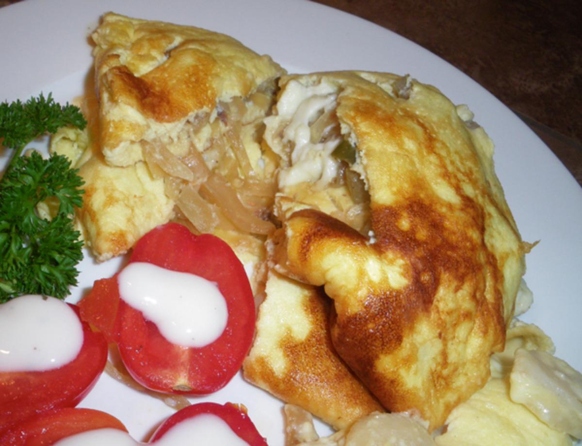 Feta Omelet image