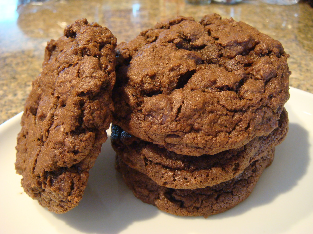 Totally Chocolate Chocolate Chip Cookies image