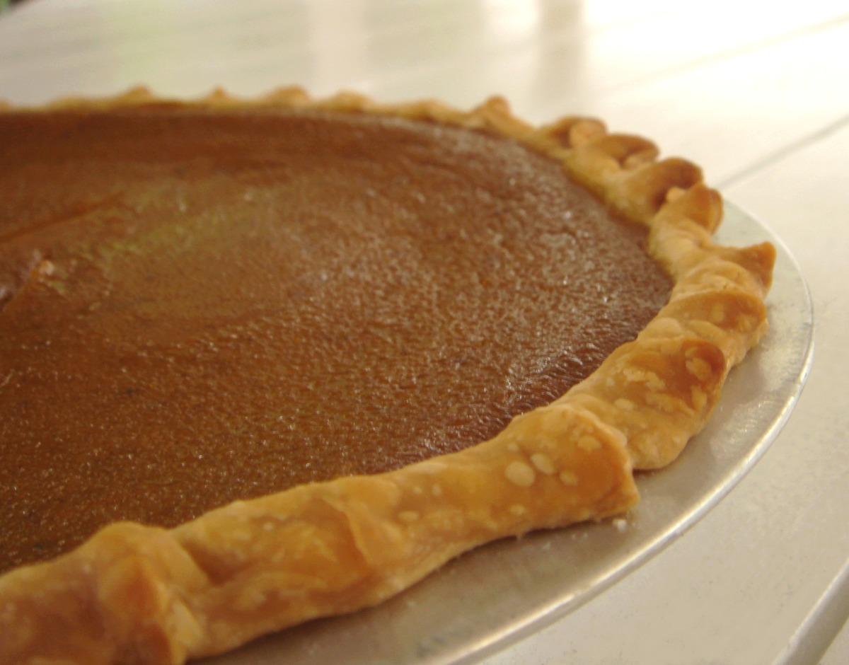Pumpkin Eggnog Pie image