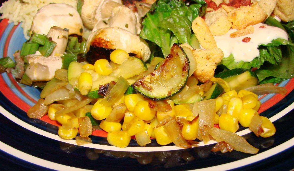 Corn With Squash image