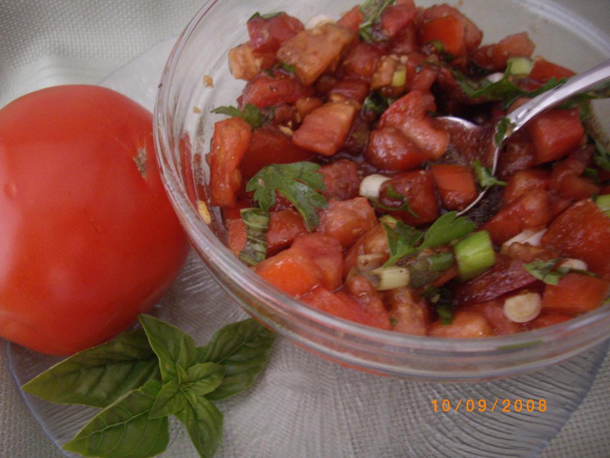 Chunky Italian Tomato Dip image