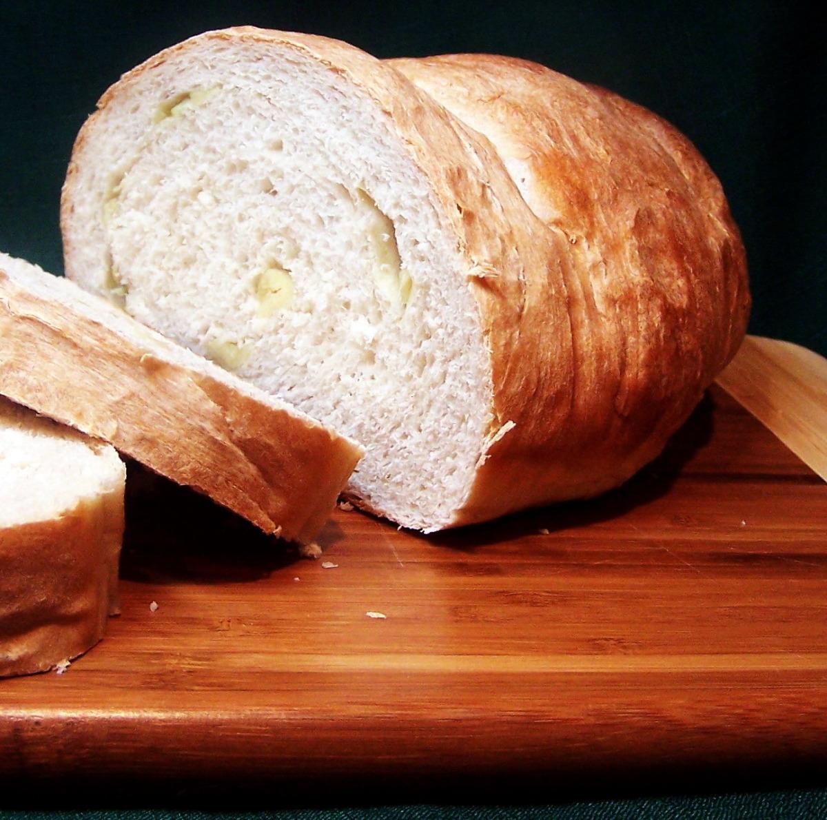Artisan Sourdough Garlic Bread image