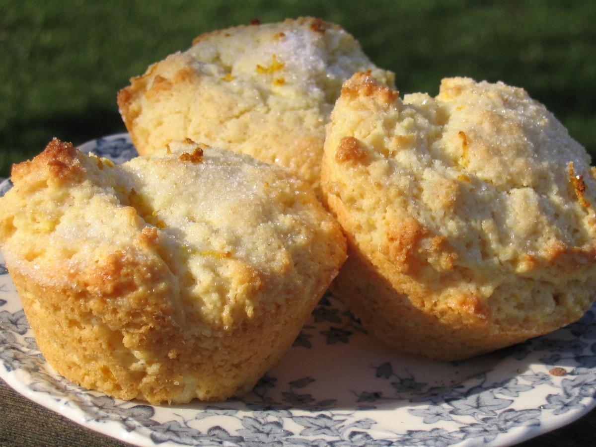 Rich Lemon Muffins image