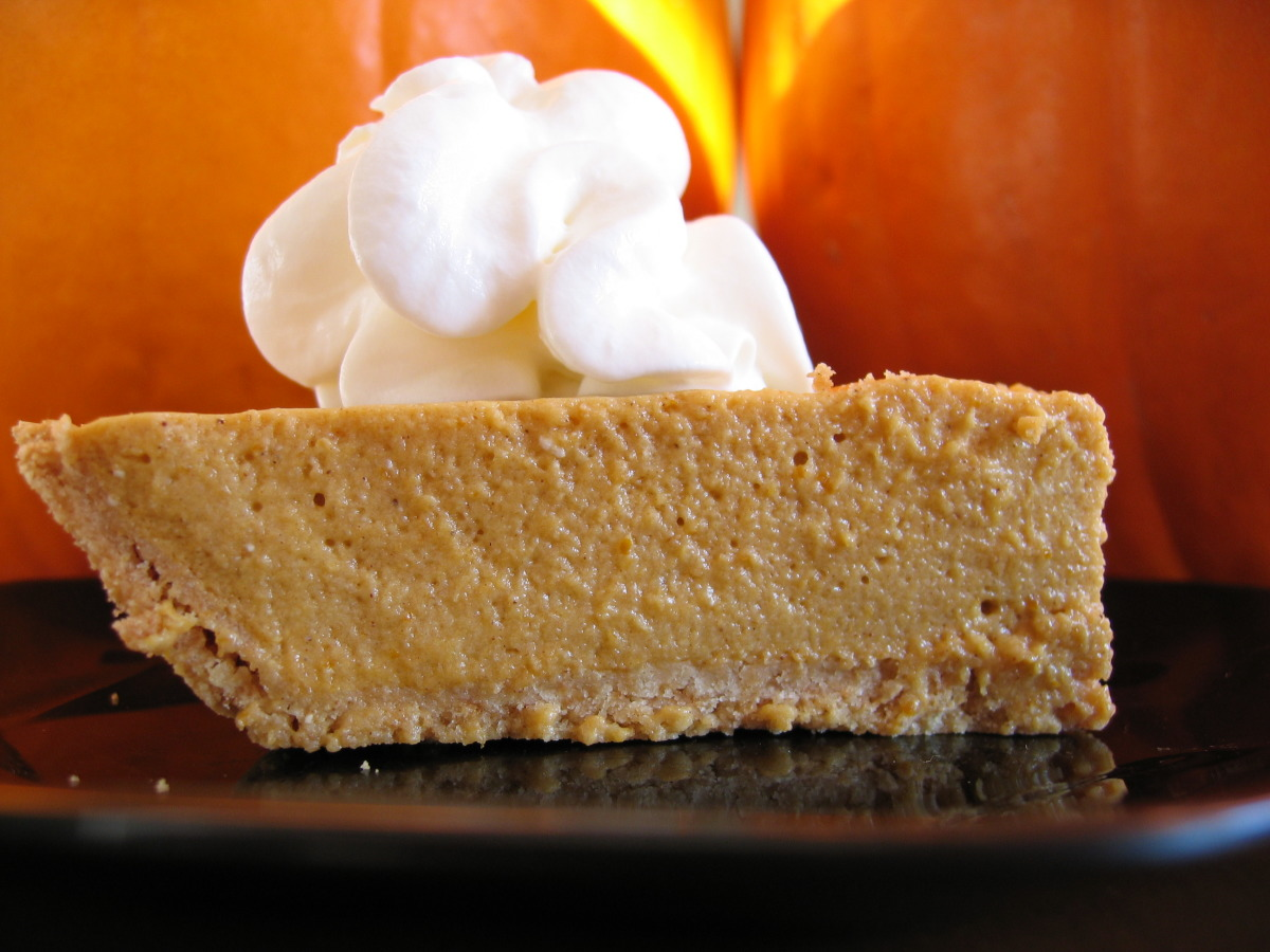 Pumpkin Chiffon Pie image