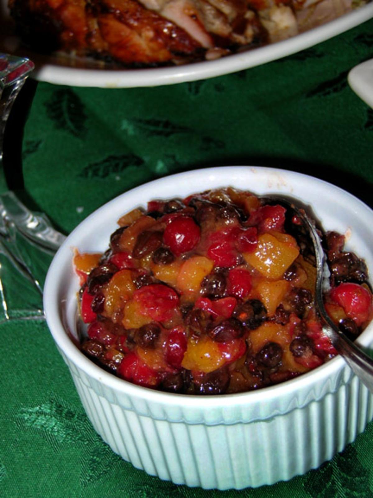 Cranberry Ginger Chutney image
