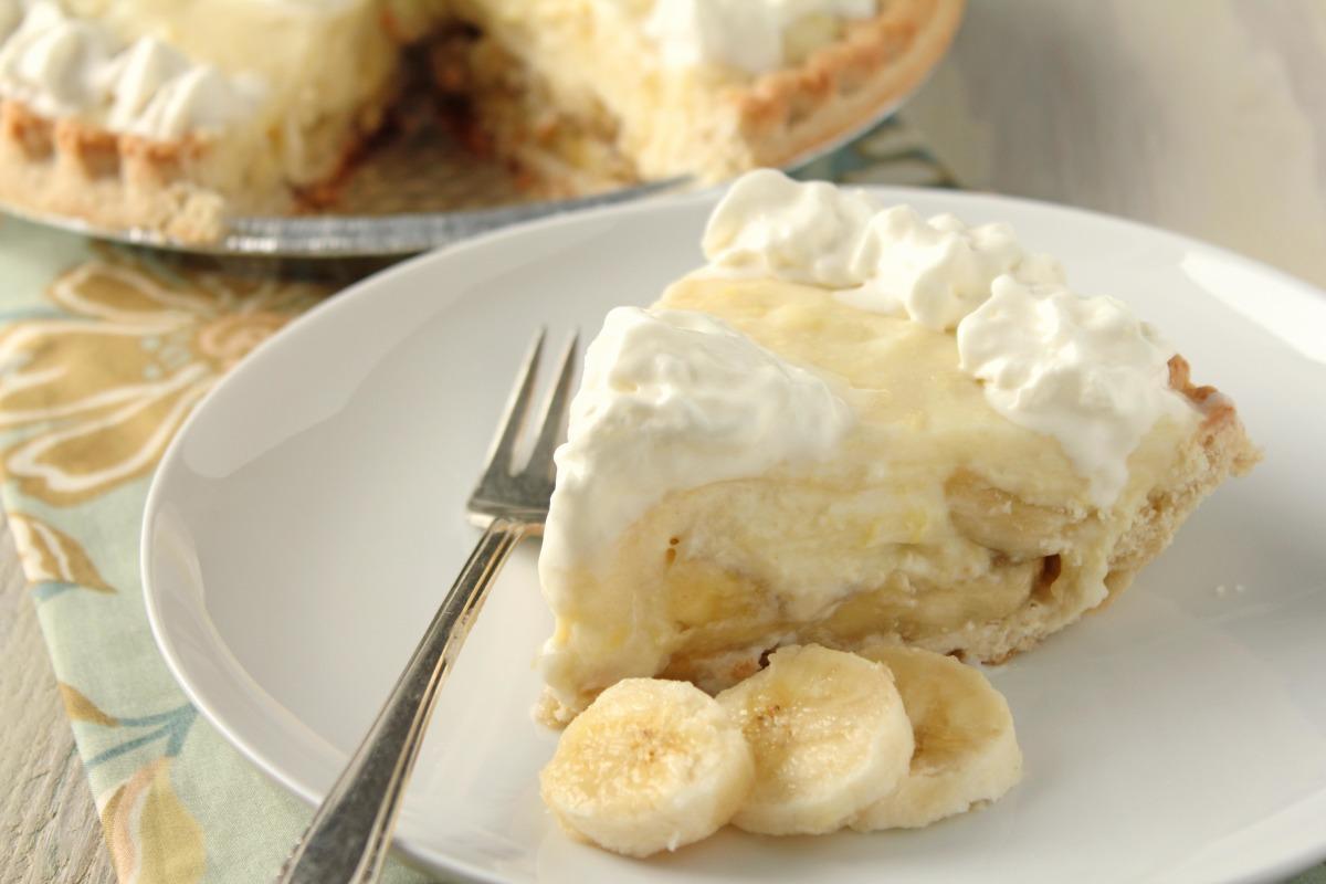 Old-Fashioned Banana Cream Pie image