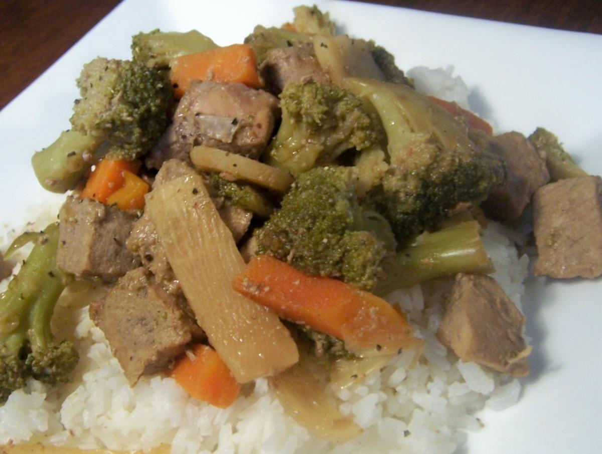 Easy Crock Pot Chop Suey image