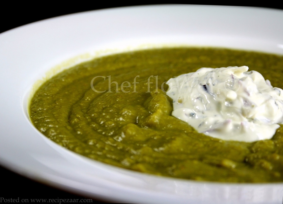 Curried Pea Soup image