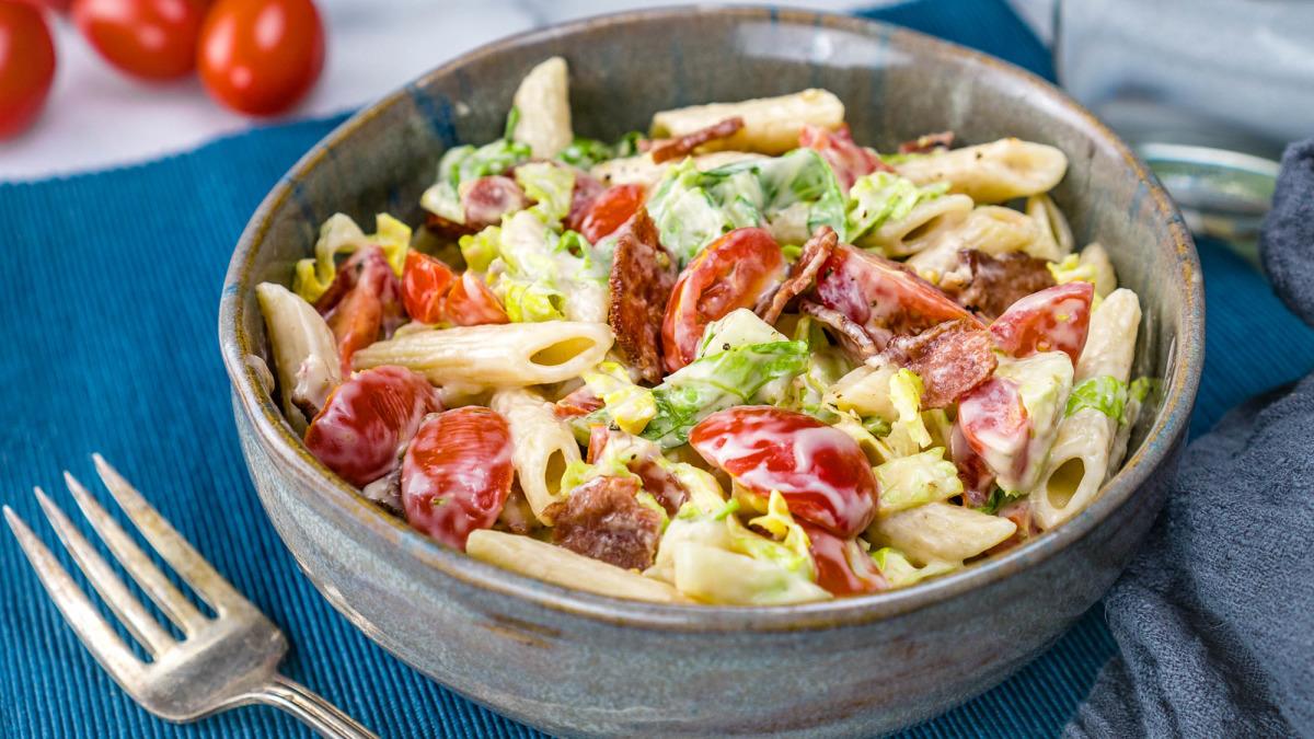 Weight Watchers BLT Pasta Salad
