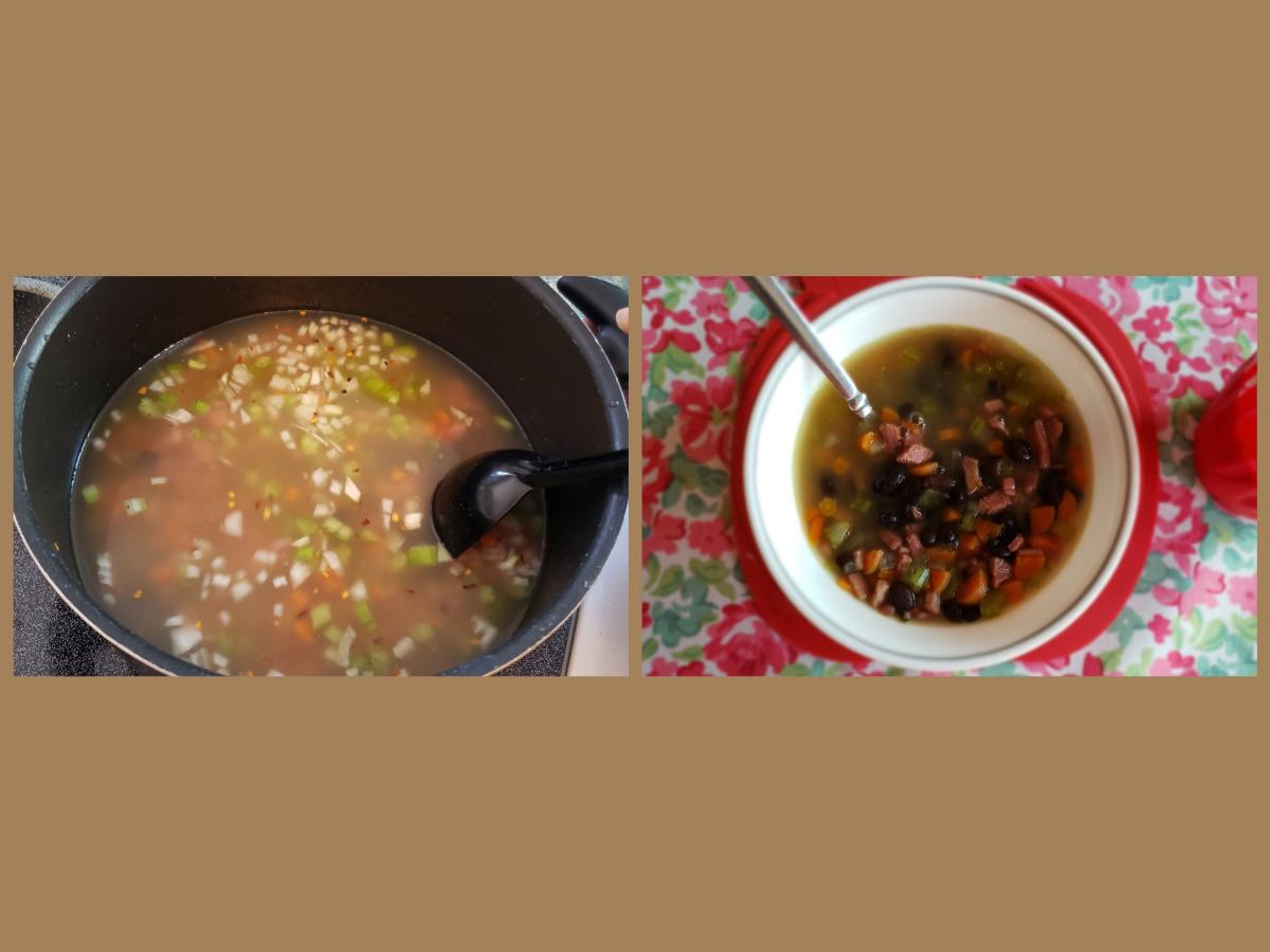 Low Carb Ham And Black Bean Soup Recipe Food Com