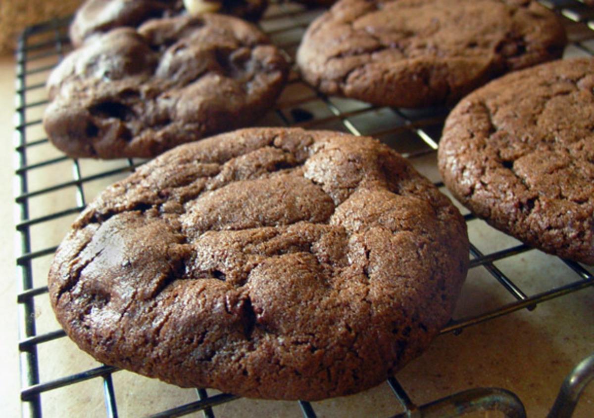 Chocolate Chocolate Chip Cookies image