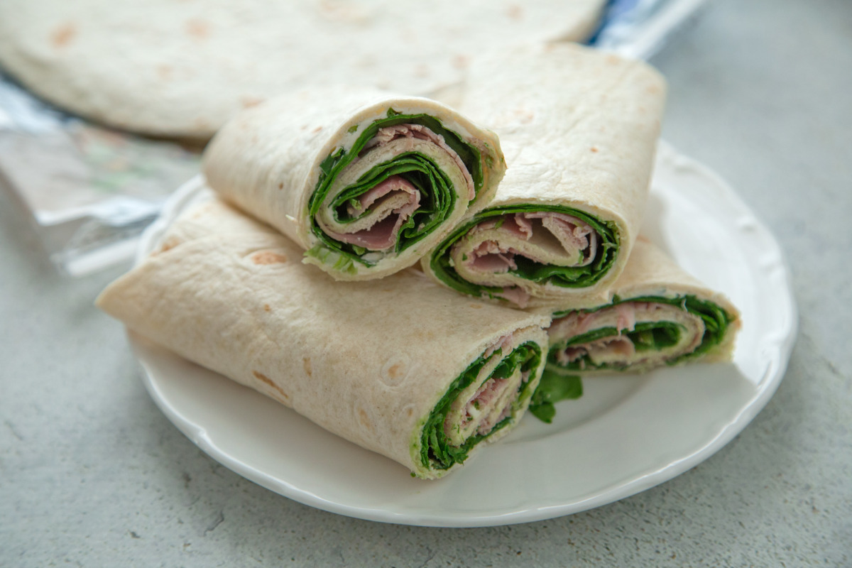 Healthy Wraps Recipe Food Com