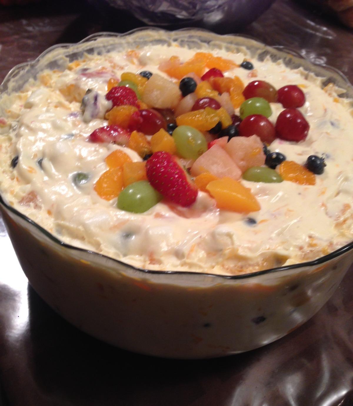Super Creamy Fruit Salad image