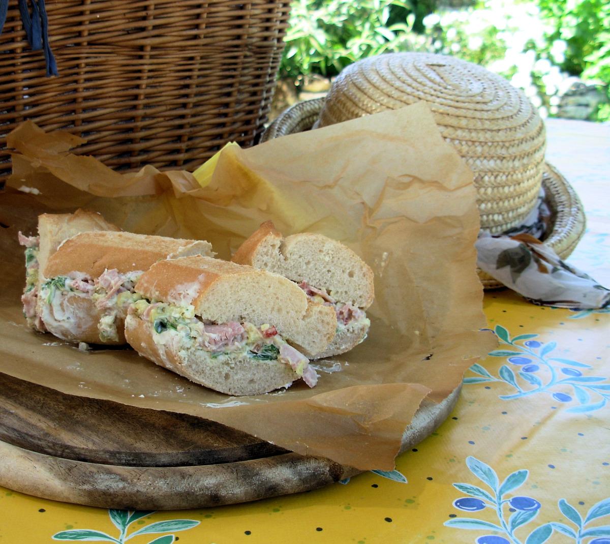 Stuffed Baguette image